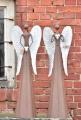 Plechový anděl Neff se srdíčkem 98,5 cm