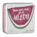"MÝDLO V PLECHU - ""YOU ARE ONE IN MELON"", 100G"