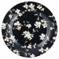 Dezertní porcelánový talíř Jolie black