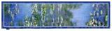 Hedvábná šála Waterlilies - Lekníny Claude Monet