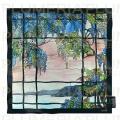 Hedvábný šátek View of Oyster Bay Louis C. Tiffany