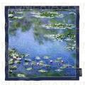 Hedvábný šátek Waterlilies - Lekníny Claude Monet