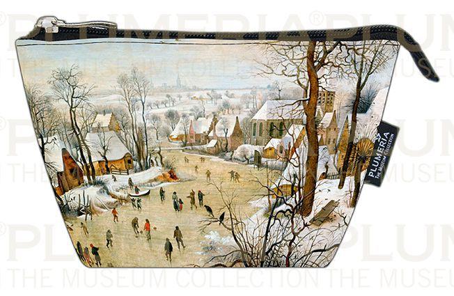 Plumeria Kosmetická taštička Winter Landscape Pieter Bruegel the Elder