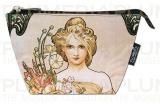 Kosmetická taštička The Seasons: Spring Alfons Mucha