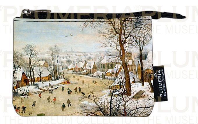 Plumeria Peněženka mini Winter Landscape Pieter Bruegel the Elder