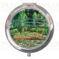 Kosmetické zrcátko Japanese Bridge Claude Monet