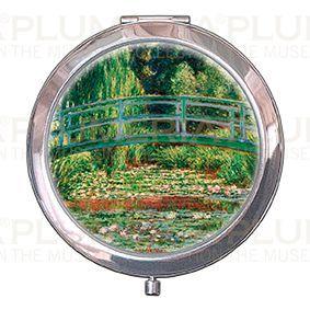 Plumeria Kosmetické zrcátko Japanese Bridge Claude Monet