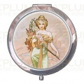 Kosmetické zrcátko The Seasons: Spring Alfons Mucha