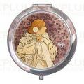 Kosmetické zrcátko La Dame Aux Camelias Alfons Mucha