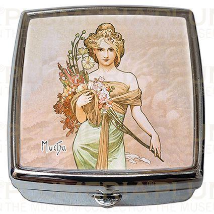Plumeria Pill - Box - Lékovka The Seasons: Spring Alfons Mucha