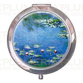 Plumeria Kosmetické zrcátko Waterlilies - Lekníny Claude Monet