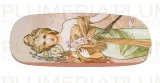 Pouzdro na brýle s utěrkou The Seasons: Spring Alfons Mucha