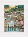 Reprodukce obrazu Malcesine Lake Garda Gustav Klimt
