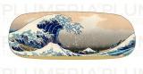 Pouzdro na brýle s utěrkou The Great Wave of Kanagawa Katsushika Hokusai
