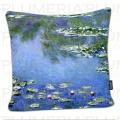 Povlak na polštář Waterlilies - Lekníny Claude Monet