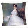 Povlak na polštář Empress Elisabeth - Sisi Franz Xaver Winterhalter