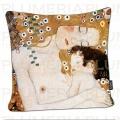 Povlak na polštář The Three Ages of a Women Gustav Klimt