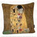 Povlak na polštář The Kiss Gustav Klimt