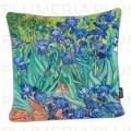 Povlak na polštář Irises Vincent Van Gogh