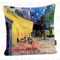 Povlak na polštář Café Terrace Vincent Van Gogh