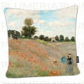 Povlak na polštář Poppies near Argenteuil Claude Monet
