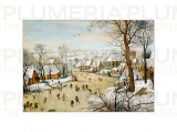 Reprodukce obrazu Winter Landscape Pieter Bruegel the Elder