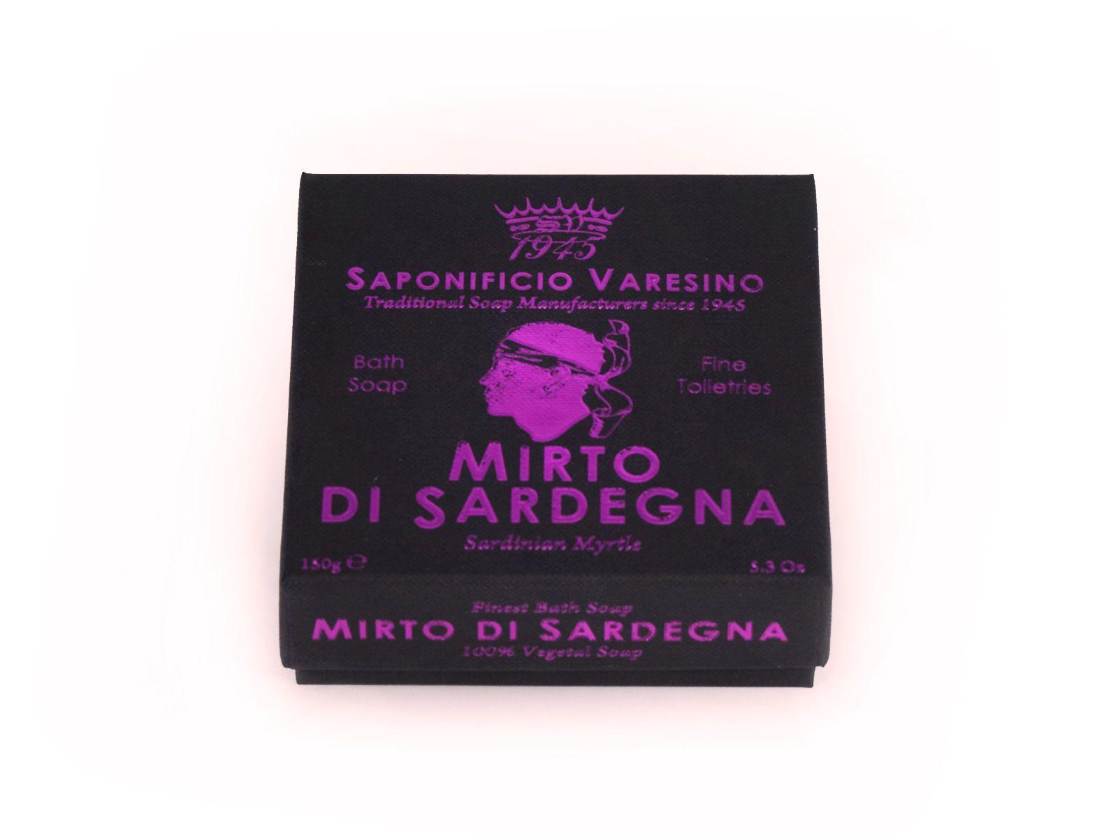 Saponificio Varesino Mirto di Sardegna - 100% přírodní mýdlo na obličej a tělo 150 g