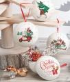 Vánoční plechová baňka s čokoládovými pralinkami 48g