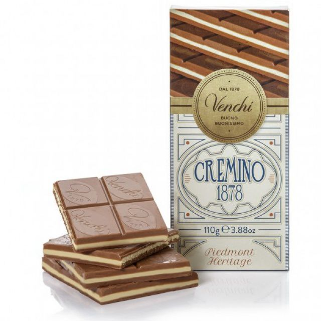 Venchi Mléčná čokoláda Cremino 1878 110g