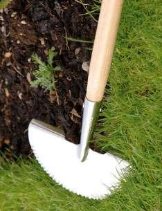 Burgon&Ball Ořezávač hran trávníků půlkruhový