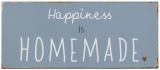 Plechová cedule Happiness Is Homemade 13 x 30,5 cm