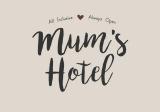 Plechová cedule Mum's Hotel