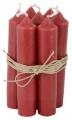 Svíčka Red - set 6 ks