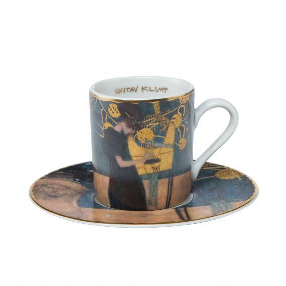 Goebel Porcelánový šálek s podšálkem espresso Die Musik - Hudba