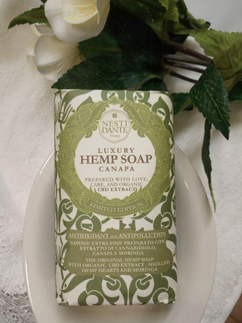 Nesti Dante Luxusní mýdlo Konopí - Hemp soap Canapa 250G