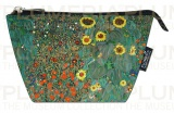 Kosmetická taštička Garden with Sunflowers - Zahrada Gustav Klimt