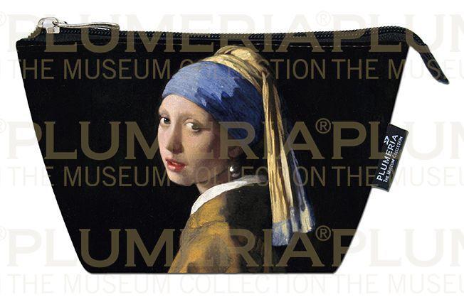 Plumeria Kosmetická taštička The Girl a Pearl Earring Jan Vermeer