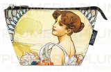 Kosmetická taštička The Seasons: Summer Alfons Mucha