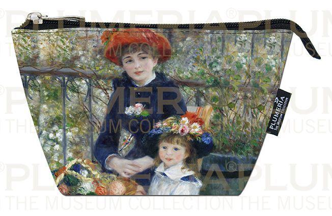 Plumeria Kosmetická taštička Two Sisters on the Terrace Piere Auguste Renoir