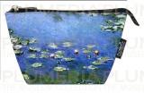 Kosmetická taštička Waterlilies - Lekníny Claude Monet