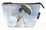 Kosmetická taštička Women with Parasol Claude Monet