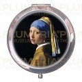 Kosmetické zrcátko The Girl a Pearl Earring Jan Vermeer