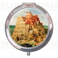 Kosmetické zrcátko Tower of Babel Pieter Bruegel the Elder