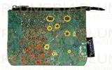 Peněženka mini Garden with Sunflowers - Zahrada Gustav Klimt