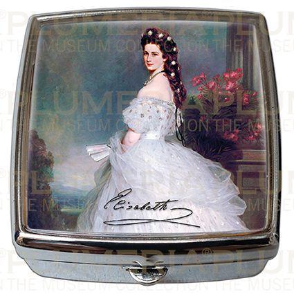 Plumeria Pill - Box - Lékovka Empress Elisabeth - Sisi Franz Xaver Winterhalter