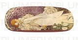 Pouzdro na brýle s utěrkou La Dame Aux Camelias  Alfons Mucha