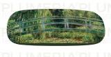 Pouzdro na brýle s utěrkou Japanese Bridge Claude Monet