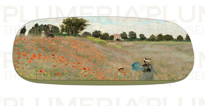 Plumeria Pouzdro na brýle s utěrkou Poppies near Argenteuil Claude Monet
