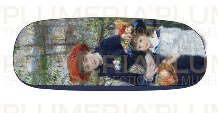 Plumeria Pouzdro na brýle s utěrkou Two Sisters on the Terrace Piere Auguste Renoir
