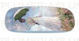 Pouzdro na brýle s utěrkou Women with Parasol Claude Monet